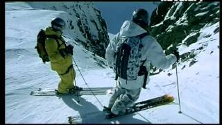 Экстремальный спуск на лыжах и сноуборде.