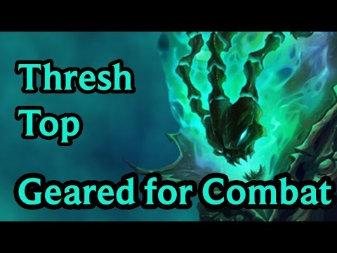 AD Thresh - Geared For Combat - League of Legends Build Guide