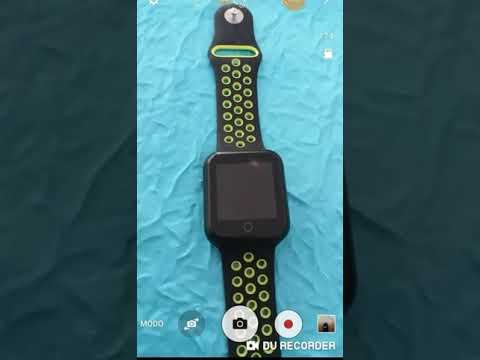 3043cd9d440 Relógio Eletrônico OLED Pró Série 2 - 42mm - Smartwatch - YouTube