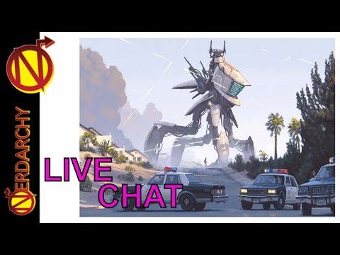 Nerdarchy Live Chat #78 Tales from the Loop Role-Playing Game