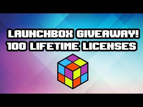LaunchBox Giveaway! 100 LifeTime Licenses