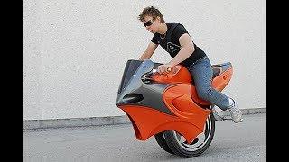 18歲男孩發明可變形摩托車,兩輪獨輪壹鍵切換,車身可長可短 Video