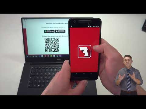 How To Use An Android Smartphone As A PC Barcode Scanner