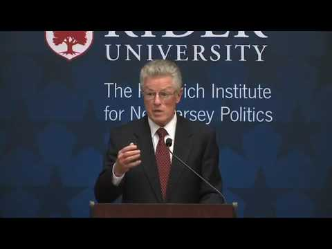 Hon. Jim Florio: Governing New Jersey Series - The Rebovich Institute for New Jersey Politics