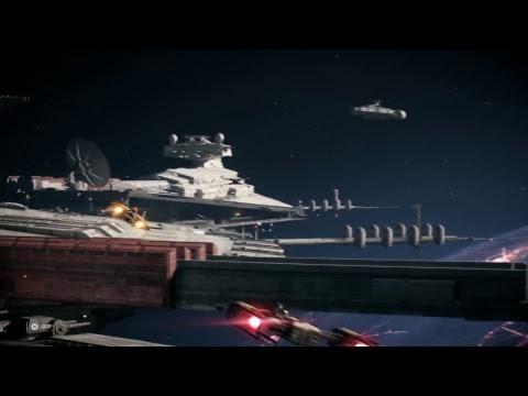 Battlefront 2 PS4! Grinding The Officer!