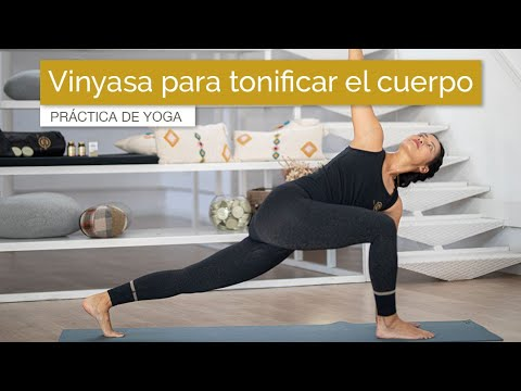 Vinyasa Yoga Para Tonificar El Cuerpo Sin Impacto (45 Min)