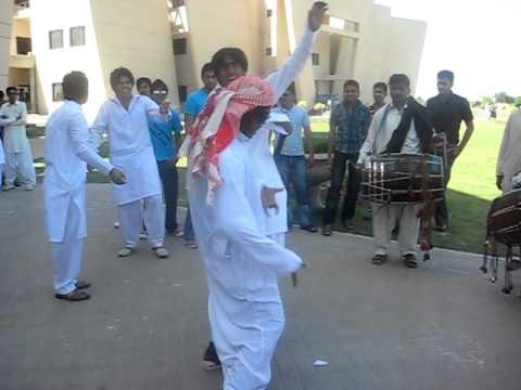 Arabic dance in University of Gujrat