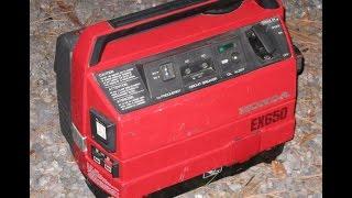 scrap yard honda generator will it run