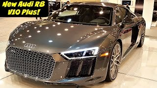The New 2017 Audi R8 V10 Plus in 4K Ultra HD! - by John D. Villarreal