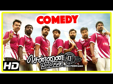 Chennai 600028 II Movie | Comedy Part 3 | Shiva | Jai | Prem