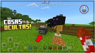 TODAS LAS COSAS OCULTAS QUE VIENEN en Minecraft 1.2! - NUEVOS SECRETOS OCULTOS