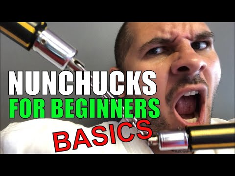 How to use Nunchucks for beginners Part 1 Basics Nunchuck Drill with Sensei David
