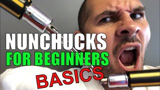 How to use Nunchucks for beginners Part 1 Basic Nunchuck Drill with Sensei David