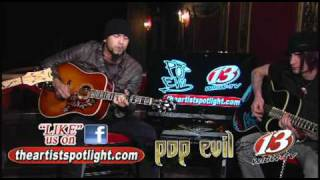 Pop Evil - 100 in a 55 The Artist Spotlight WIBW-TV  Acoustic Live Professional