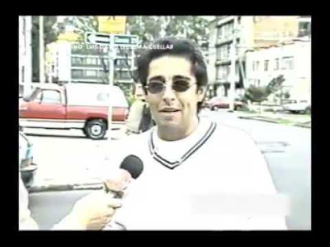Jaime Garzón horas antes de su muerte