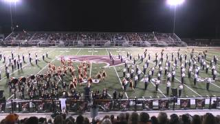 Walker Valley High School Band @ Alcoa Competition October 25, 2014
