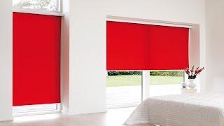 Рулонные шторы пружинные на пластиковые окна, системы   avto  Детальный Обзор