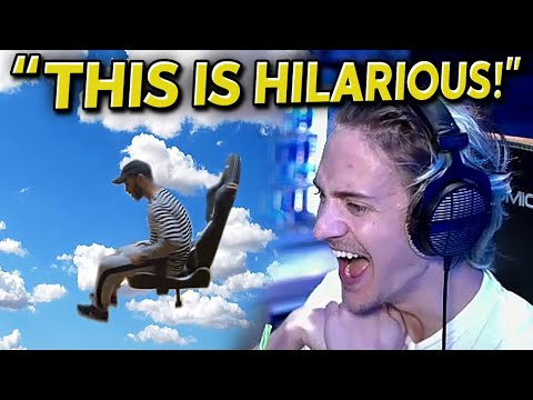 "Ninja Reacts to ""Fortnite Memes that Bring Back Hamlinz"""