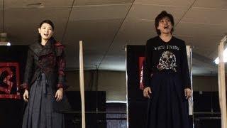 2013年6月10日(月)から上演されるミュージカル「天翔ける風に」の公開稽...