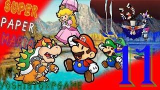 En Busca del Merlón Escondido【Super Paper Mario】Ep.11