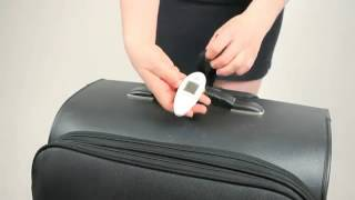 Travelon Pocket Digital Luggage Scale White 12636 @ www.bagworld.com.au