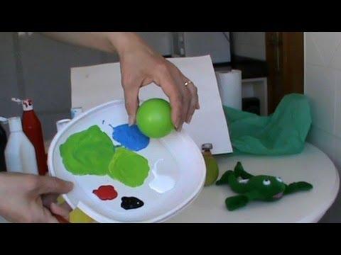 Mezclar colores el verde c mo conseguir diferentes for Con que se limpia el marmol blanco
