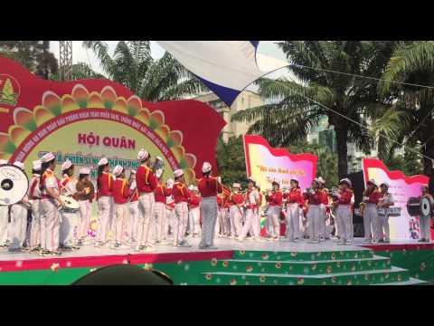 Đội nhạc kèn Võ Thành Trang giải đặc biệt thành phố 2015