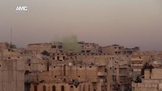 حلب: غاز الكلورين يقتل الاطفال و المواطنين