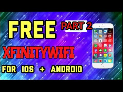 *NEW VERSION* FREE Xfinity WIFI  IOS & ANDROID  Version WORKING!!!