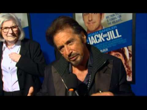 Al Pacino Interview from the Premiere of Adam Sandler