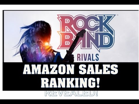 Rock Band Rivals Sales Ranking Launch Day Amazon