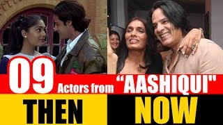 """9 Bollywood Actors from """"AASHIQUI"""" 1990 