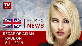 InstaForex tv news: 15.11.2019: USD asserts strength after Larry Kudlow's remarks (USDX, JPY, USD, AUD)