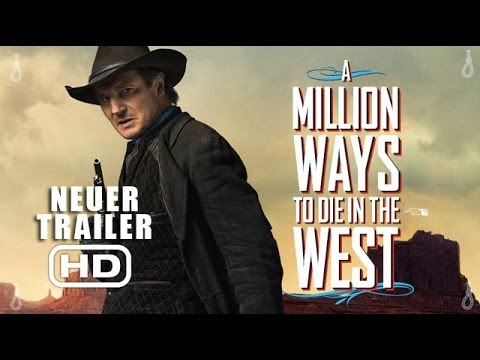 A Million Ways To Die In The West - Trailer 2 deutsch / german HD