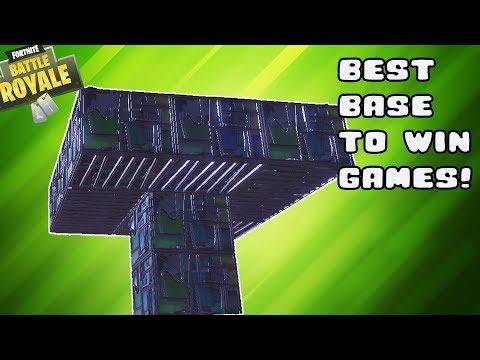 Fortnite | The BEST Base for END Game WINS! Fortnite Battle Royal!
