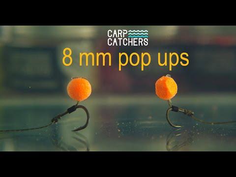 Насадки для ловли карпа: поп-апы Carp Catchers 8 мм. Презентация насадки и оснастка для поп-ап