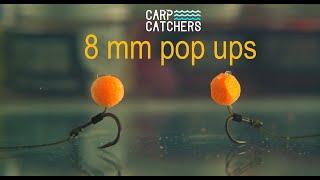 Насадки для ловли карпа поп апы Carp Catchers 8 мм Презентация насадки и оснастка для поп ап