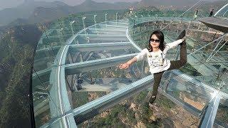 7 Most DANGROUS BRIDGES In The World In URDU/HINDI . दुनिया के 07 सबसे खतरनाक पुल .