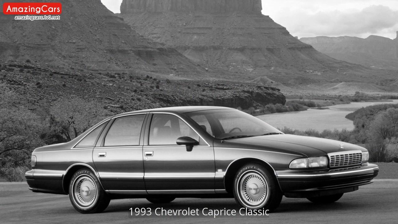 1993 Chevrolet Caprice Classic - YouTube