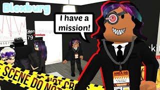 BLOXBURG TOP SECRET SPY CENTER! (Roblox Rollenspiel)