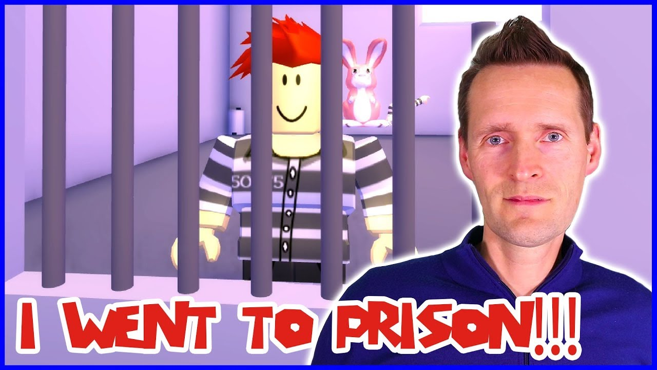 I Went To Prison In An Obby And Escaped Youtube
