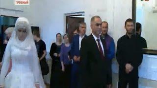 Свадьба Нажуда Гучигова и Луизы Гойлабиевой