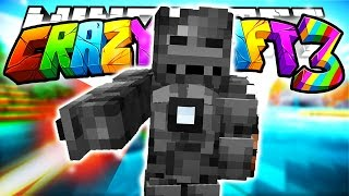 Minecraft Crazy Craft 3.0: Iron Man Mark 1! (Superheros Mod)! #105