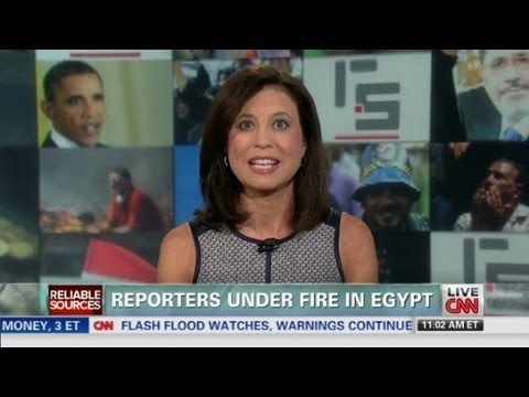 Reporters under fire in Egypt