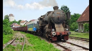 RTC - Steam in Bosnia - Part 1 - Tuzla to Bijela, including Cab and Driver's Eye Views