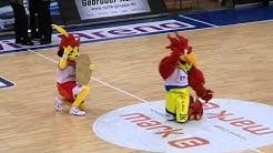 Feuervogel Phoenix Hagen Maskottchen Tanz