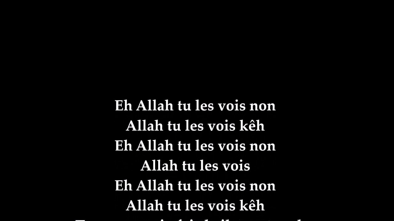 son de kiff no beat eh allah