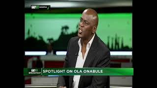 TVC Breakfast  30th Nov., 2018   Spotlight on Ola Onabule