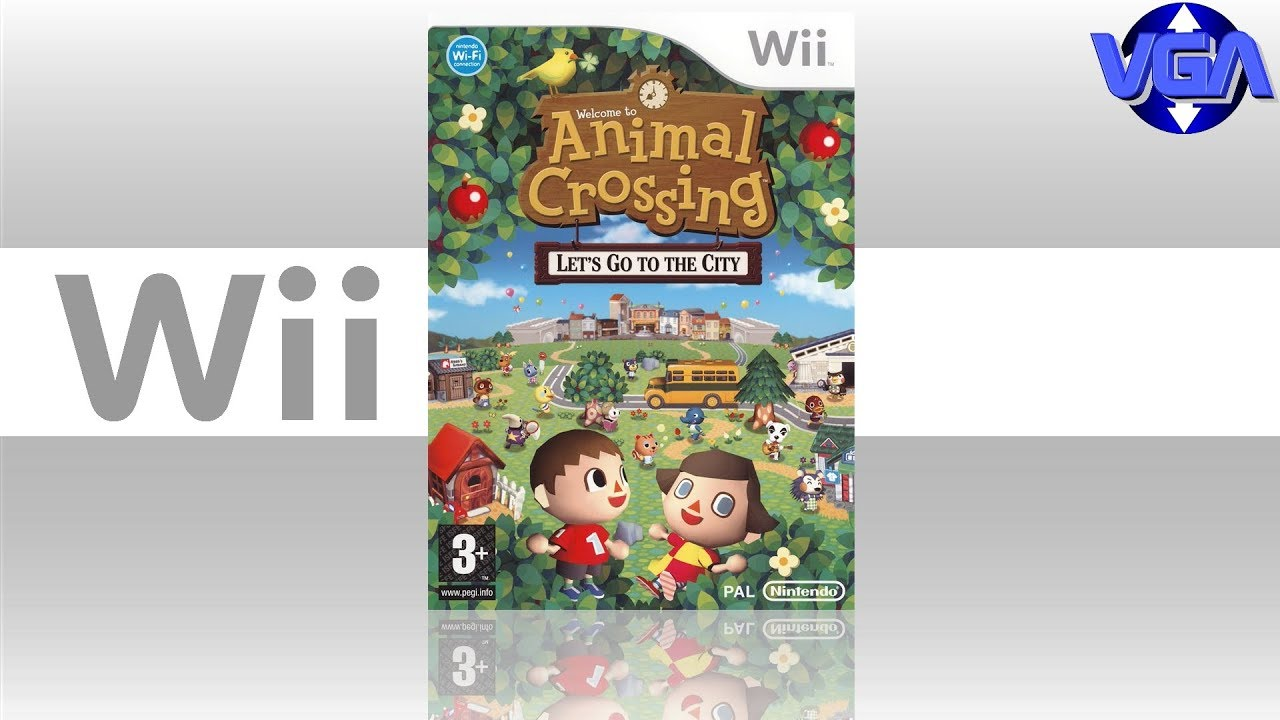 Animal Crossing Lets Go To The City Gameplay Wii 2008