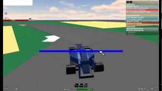f1 racing #1: Roblox circuit